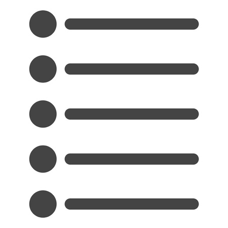 Items vector icon on a white background. An isolated flat icon illustration of items with nobody. 版權商用圖片 - 126711642