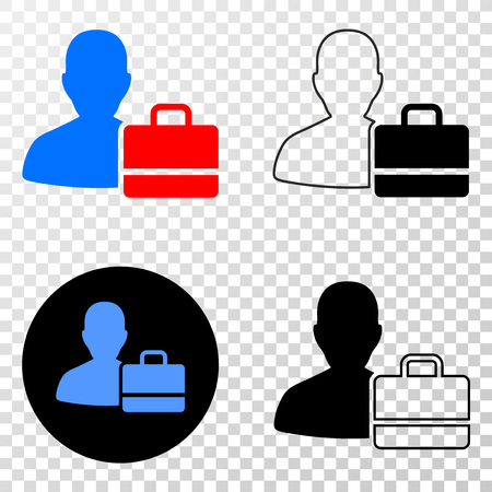 User case EPS vector pictograph with contour, black and colored versions. Illustration style is flat iconic symbol on chess transparent background. Illustration