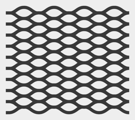 Rope mesh raster icon. Illustration contains flat rope mesh iconic symbol isolated on a white background.