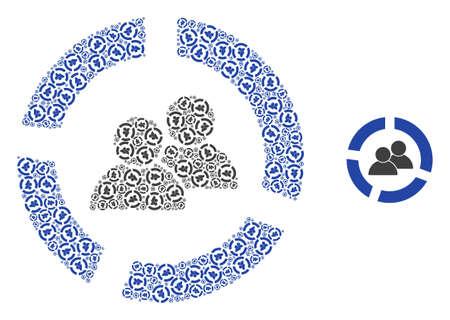 users diagram mosaic is organized of random recursive users diagram parts. Recursive mosaic of users diagram.