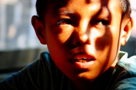 thai boy: Thai boy in Sang Khla Buri