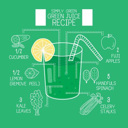 avuç: Simply green juice recipes great detoxify design