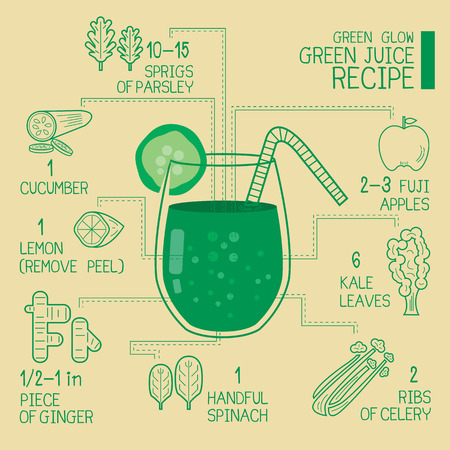 smoothie: Green glow green juice recipes great  detoxify design