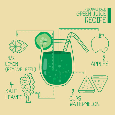 ravizzone: Red apple kale,green juice recipes great detoxify design