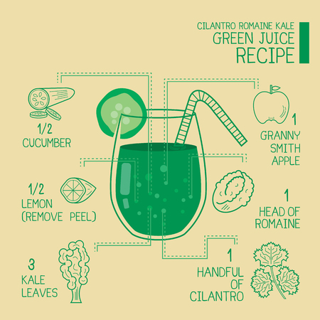 cilantro: Cilantro romaine kale, green juice recipes great  detoxify design