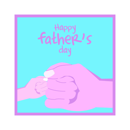 Happy fathers day greeting card,Fist bump design art