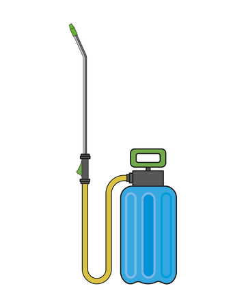 Garden sprayer vector illustration Illustration