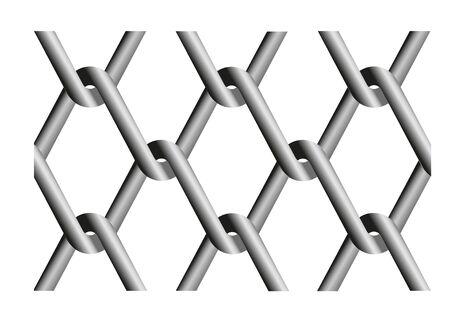 Vector illustration of rabitz mesh.