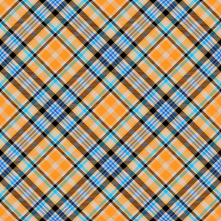 Yellow Tartan Plaid Scottish Seamless Pattern. Texture from tartan, plaid, tablecloths, shirts, clothes, dresses, bedding, blankets and other textile