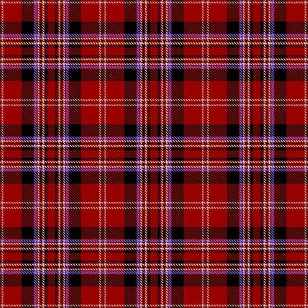 Red,Black,Blue and White Tartan Plaid Scottish Seamless Pattern. Texture from tartan, plaid, tablecloths, shirts, clothes, dresses, bedding, blankets and other textile.