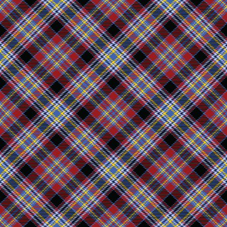 Red,Black,Yellow,Blue and Purple Tartan Plaid Scottish Seamless Pattern. Texture from tartan, plaid, tablecloths, shirts, clothes, dresses, bedding, blankets and other textile.