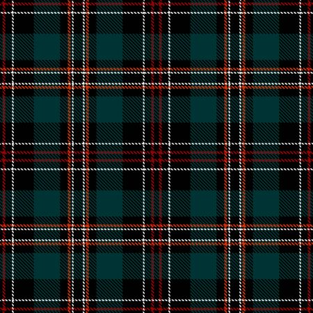Green,Black,Red and White Tartan Plaid Scottish Seamless Pattern. Texture from tartan, plaid, tablecloths, shirts, clothes, dresses, bedding, blankets and other textile. 일러스트