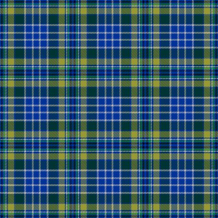 Blue and Green Tartan Plaid Scottish Seamless Pattern. Texture from tartan, plaid, tablecloths, shirts, clothes, dresses, bedding, blankets and other textile.