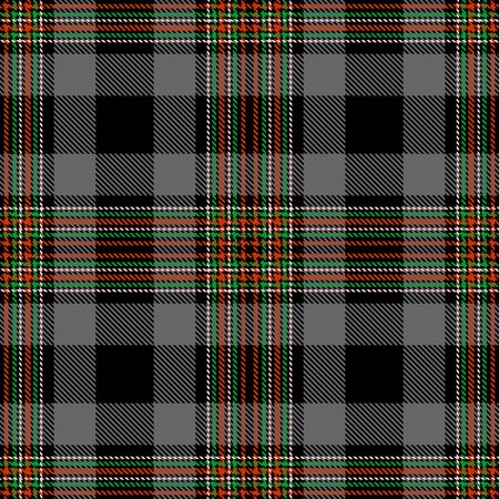 Gray,Black,Red,Green and Pink Tartan Plaid Scottish Seamless Pattern. Texture from tartan, plaid, tablecloths, shirts, clothes, dresses, bedding, blankets and other textile. 일러스트