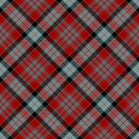 Red,Gray,Black and Blue Tartan Plaid Scottish Seamless Pattern. Texture from tartan, plaid, tablecloths, shirts, clothes, dresses, bedding, blankets and other textile. 일러스트