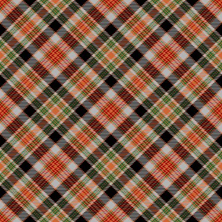 Orange,Black,Red,Green,Gray Tartan Plaid Scottish Seamless Pattern. Texture from tartan, plaid, tablecloths, shirts, clothes, dresses, bedding, blankets and other textile.
