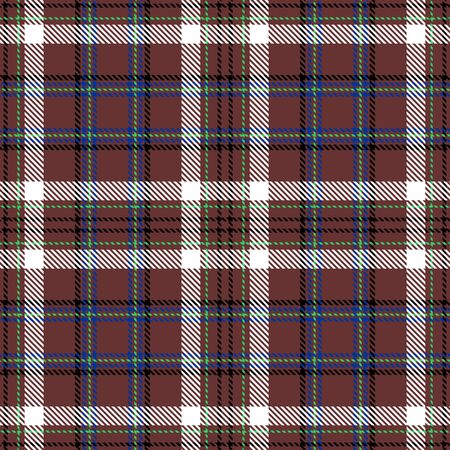 Brown,White,Black,Blue and Green Tartan Plaid Scottish Seamless Pattern. Texture from tartan, plaid, tablecloths, shirts, clothes, dresses, bedding, blankets and other textile.