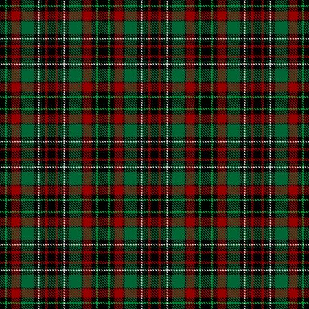 Green,Red,Black and White Tartan Plaid Scottish Seamless Pattern. Texture from tartan, plaid, tablecloths, shirts, clothes, dresses, bedding, blankets and other textile.