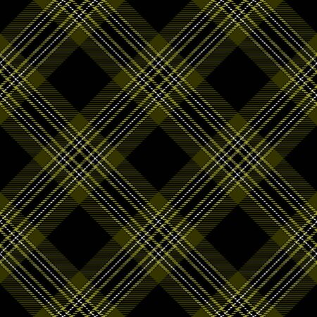Black,Green and White Tartan Plaid Scottish Seamless Pattern. Texture from tartan, plaid, tablecloths, shirts, clothes, dresses, bedding, blankets and other textile.