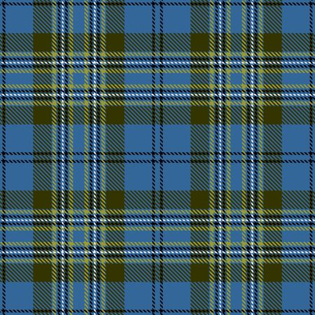 Blue,Green,Black and White Tartan Plaid Scottish Seamless Pattern. Texture from tartan, plaid, tablecloths, shirts, clothes, dresses, bedding, blankets and other textile. 일러스트
