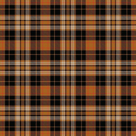 Gold,Black,White and Red Tartan Plaid Scottish Seamless Pattern. Texture from tartan, plaid, tablecloths, shirts, clothes, dresses, bedding, blankets and other textile. 일러스트
