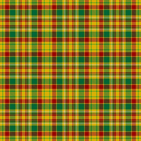 Yellow,Green,Red,Black and Gray Tartan Plaid Scottish Seamless Pattern. Texture from tartan, plaid, tablecloths, shirts, clothes, dresses, bedding, blankets and other textile.