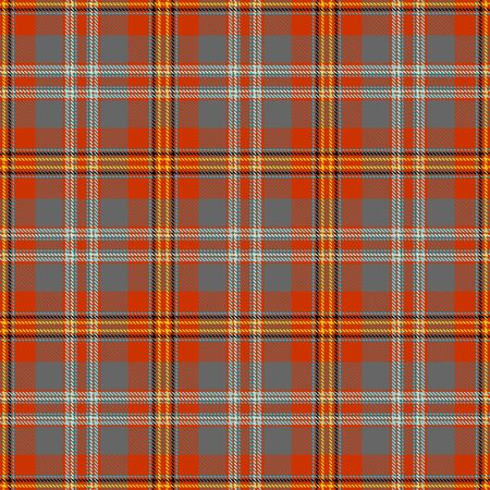 Orange,Gray,Yellow,Black and Blue  Tartan Plaid Scottish Seamless Pattern. Texture from tartan, plaid, tablecloths, shirts, clothes, dresses, bedding, blankets and other textile.