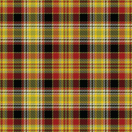 Red,Black,Yellow,Gray and Green Tartan Plaid Scottish Seamless Pattern. Texture from tartan, plaid, tablecloths, shirts, clothes, dresses, bedding, blankets and other textile.