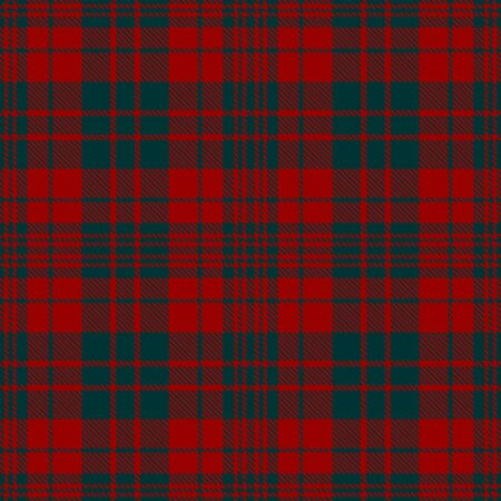 Red and Green Tartan Plaid Scottish Seamless Pattern. Texture from tartan, plaid, tablecloths, shirts, clothes, dresses, bedding, blankets and other textile.