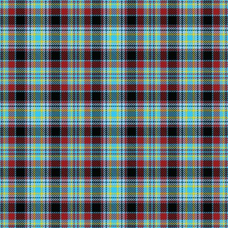 Blue,Black,Red and Yellow Tartan Plaid Scottish Seamless Pattern. Texture from tartan, plaid, tablecloths, shirts, clothes, dresses, bedding, blankets and other textile.