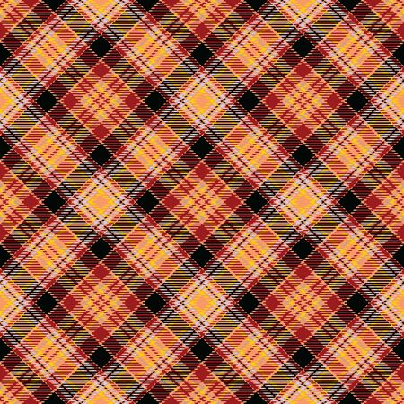 Gold,Red,Black and Yellow Tartan Plaid Scottish Seamless Pattern. Texture from tartan, plaid, tablecloths, shirts, clothes, dresses, bedding, blankets and other textile. 일러스트
