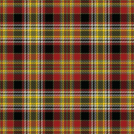 Red,Black,Yellow,Green and Gray Tartan Plaid Scottish Seamless Pattern. Texture from tartan, plaid, tablecloths, shirts, clothes, dresses, bedding, blankets and other textile.