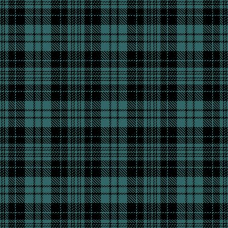 Black and Green Tartan Plaid Scottish Seamless Pattern. Texture from tartan, plaid, tablecloths, shirts, clothes, dresses, bedding, blankets and other textile. 일러스트