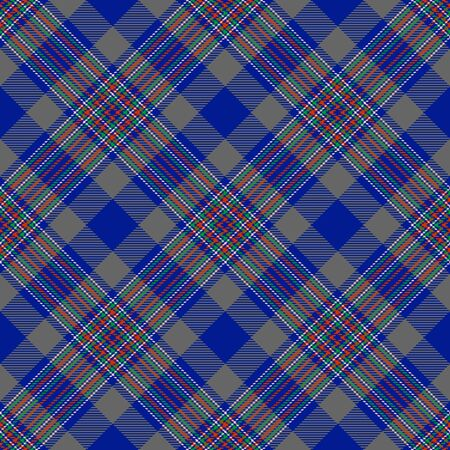 Blue,Gray,Red,Green and Pink Tartan Plaid Scottish Seamless Pattern. Texture from tartan, plaid, tablecloths, shirts, clothes, dresses, bedding, blankets and other textile. 일러스트