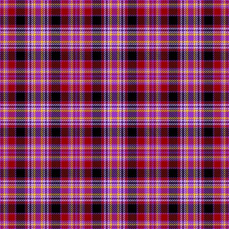 Red,Black,Yellow and Gray Tartan Plaid Scottish Seamless Pattern. Texture from tartan, plaid, tablecloths, shirts, clothes, dresses, bedding, blankets and other textile.