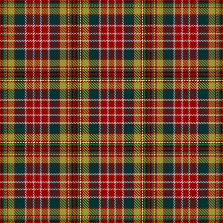 Red,Green,Black,Yellow  and Gray Tartan Plaid Scottish Seamless Pattern. Texture from tartan, plaid, tablecloths, shirts, clothes, dresses, bedding, blankets and other textile.