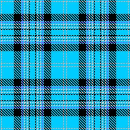 Blue,Black and Beige  Tartan Plaid Scottish Seamless Pattern. Texture from tartan, plaid, tablecloths, shirts, clothes, dresses, bedding, blankets and other textile.