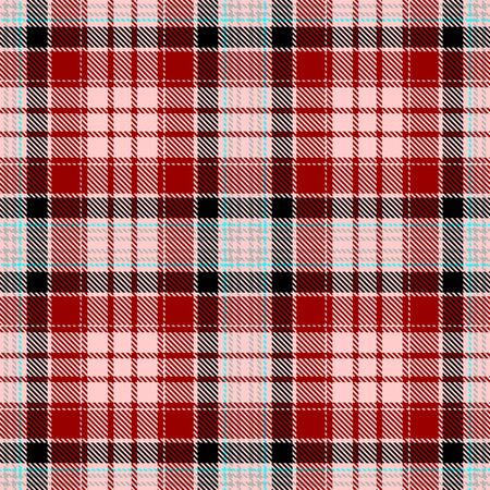 Pink,Red,Black,Gray and Blue Tartan Plaid Scottish Seamless Pattern. Texture from tartan, plaid, tablecloths, shirts, clothes, dresses, bedding, blankets and other textile.