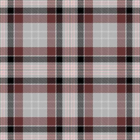 Gray,Brown,Black and Beige Tartan Plaid Scottish Seamless Pattern. Texture from tartan, plaid, tablecloths, shirts, clothes, dresses, bedding, blankets and other textile. 일러스트