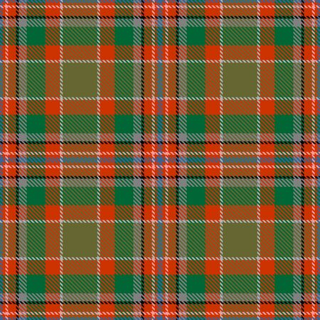 Orange,Green,Gray,Black and Blue Tartan Plaid Scottish Seamless Pattern. Texture from tartan, plaid, tablecloths, shirts, clothes, dresses, bedding, blankets and other textile.