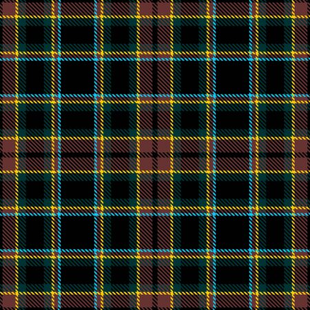 Brown,Green,Black,Yellow and Blue Tartan Plaid Scottish Seamless Pattern. Texture from tartan, plaid, tablecloths, shirts, clothes, dresses, bedding, blankets and other textile. 일러스트