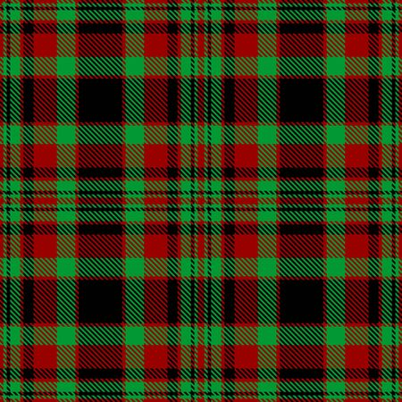 Red,Green and Black  Tartan Plaid Scottish Seamless Pattern. Texture from tartan, plaid, tablecloths, shirts, clothes, dresses, bedding, blankets and other textile.