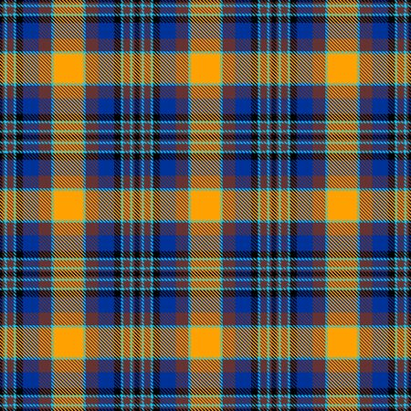 Yellow,Blue and Brown Tartan Plaid Scottish Seamless Pattern. Texture from tartan, plaid, tablecloths, shirts, clothes, dresses, bedding, blankets and other textile.