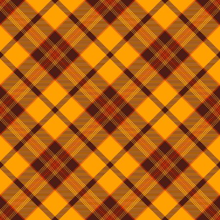 Gold,Red and Brown Tartan Plaid Scottish Seamless Pattern. Texture from tartan, plaid, tablecloths, shirts, clothes, dresses, bedding, blankets and other textile.