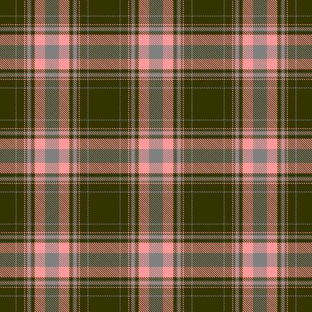 Green and Pink  Tartan Plaid Scottish Seamless Pattern. Texture from tartan, plaid, tablecloths, shirts, clothes, dresses, bedding, blankets and other textile.