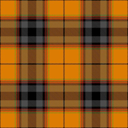 Gold,Gray,Black,Red and Green Tartan Plaid Scottish Seamless Pattern. Texture from tartan, plaid, tablecloths, shirts, clothes, dresses, bedding, blankets and other textile.