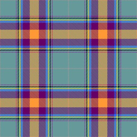Blue,Gold,Purple and Yellow Tartan Plaid Scottish Seamless Pattern. Texture from tartan, plaid, tablecloths, shirts, clothes, dresses, bedding, blankets and other textile.