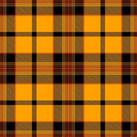 Gold,Black and Red Tartan Plaid Scottish Seamless Pattern. Texture from tartan, plaid, tablecloths, shirts, clothes, dresses, bedding, blankets and other textile. Illustration