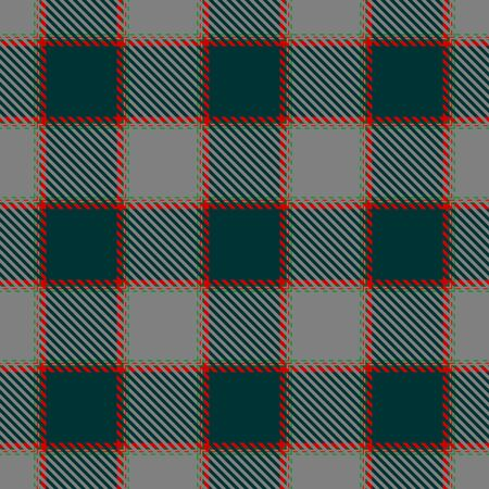 Green,Red and Gray Tartan Plaid Scottish Seamless Pattern. Texture from tartan, plaid, tablecloths, shirts, clothes, dresses, bedding, blankets and other textile.