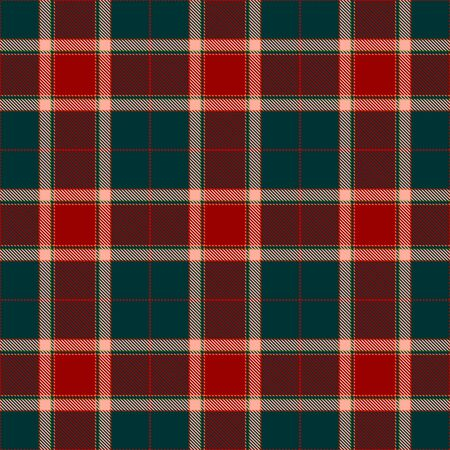 Red,Green and Beige Tartan Plaid Scottish Seamless Pattern. Texture from tartan, plaid, tablecloths, shirts, clothes, dresses, bedding, blankets and other textile.